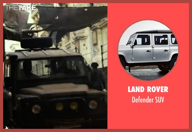 Land Rover suv from 13 Hours: The Secret Soldiers of Benghazi seen with John Krasinski (Jack)