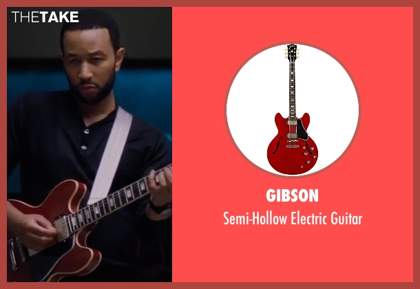 Gibson guitar from La La Land seen with John Legend (Keith)