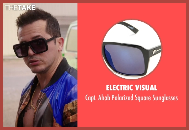 Electric Visual black sunglasses from American Ultra seen with John Leguizamo (Rose)
