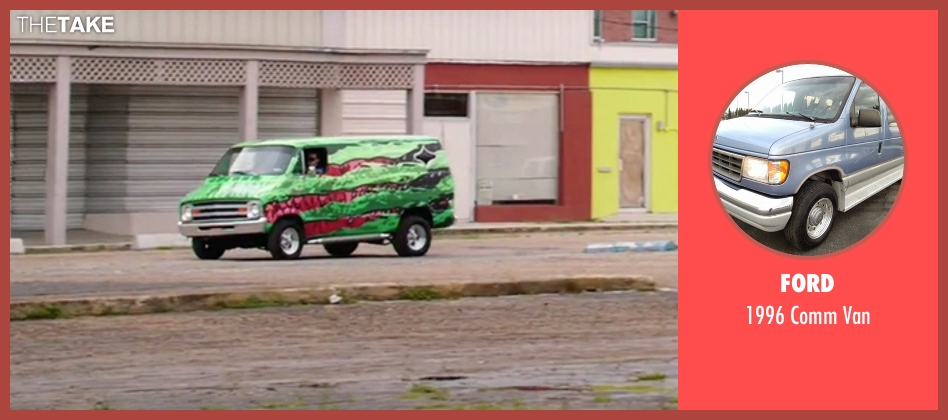 Ford van from American Ultra seen with John Leguizamo (Rose)