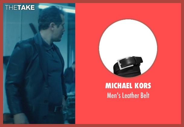 Michael Kors black belt from John Wick seen with John Leguizamo (Aureilo)