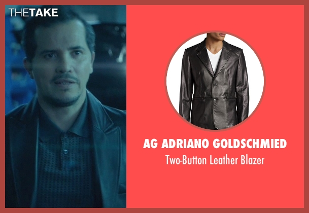 AG Adriano Goldschmied black blazer from John Wick seen with John Leguizamo (Aureilo)