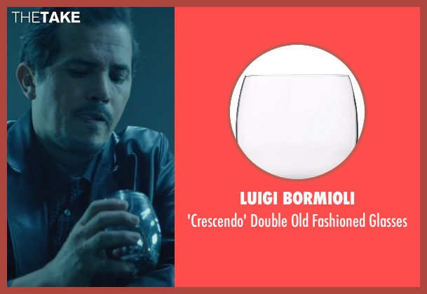 Luigi Bormioli glasses from John Wick seen with John Leguizamo (Aureilo)