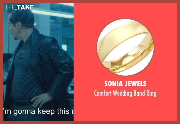 Sonia Jewels gold ring from John Wick seen with John Leguizamo (Aureilo)