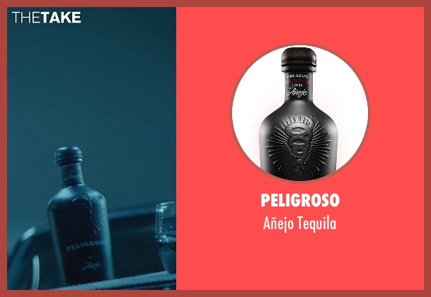 Peligroso tequila from John Wick seen with John Leguizamo (Aureilo)