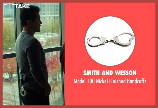 Smith and Wesson handcuffs from Ride Along seen with No Actor (Santiago)