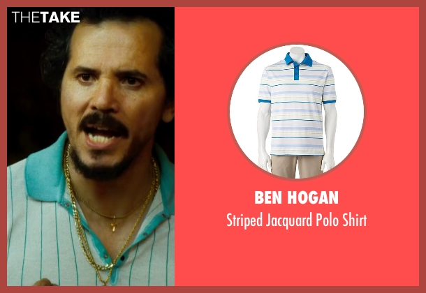 Ben Hogan white shirt from The Infiltrator seen with John Leguizamo (Emir Abreu)