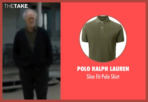 Polo Ralph Lauren green shirt from Interstellar seen with John Lithgow (Donald)