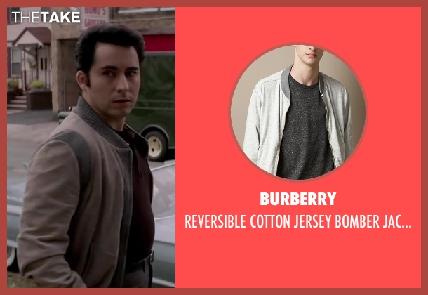 BURBERRY beige jacket from Jersey Boys seen with No Actor (Frankie Valli)