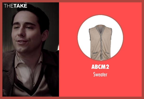 ABCM2 beige sweater from Jersey Boys seen with No Actor (Frankie Valli)
