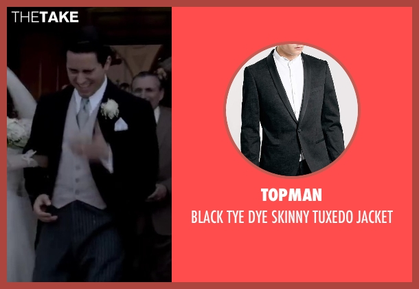 TOPMAN black jacket from Jersey Boys seen with No Actor (Frankie Valli)