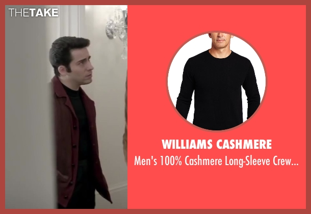Williams Cashmere black sweater from Jersey Boys seen with No Actor (Frankie Valli)