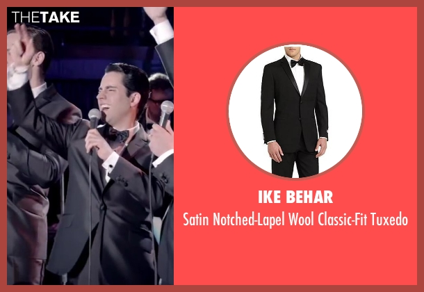 Ike Behar black tuxedo from Jersey Boys seen with No Actor (Frankie Valli)
