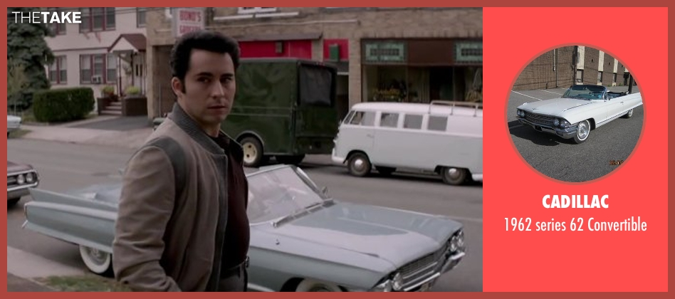 CADILLAC convertible from Jersey Boys seen with No Actor (Frankie Valli)