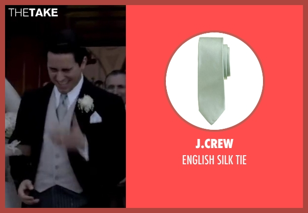 J.CREW green tie from Jersey Boys seen with No Actor (Frankie Valli)