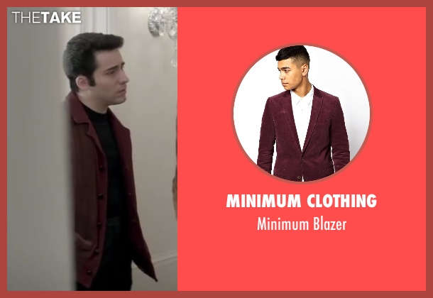 MINIMUM CLOTHING red blazer from Jersey Boys seen with No Actor (Frankie Valli)