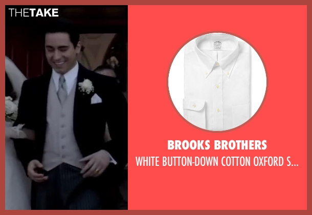 BROOKS BROTHERS white shirt from Jersey Boys seen with No Actor (Frankie Valli)