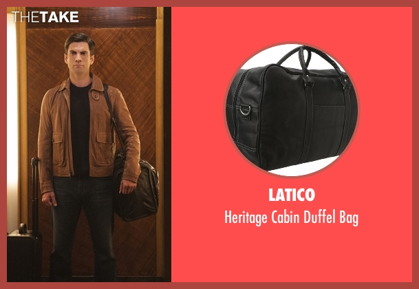 Latico black bag from American Horror Story seen with John Lowe (Wes Bentley)