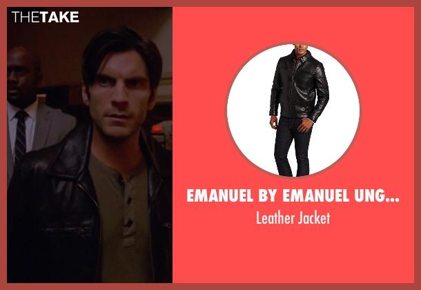 Emanuel by Emanuel Ungaro black jacket from American Horror Story seen with John Lowe (Wes Bentley)