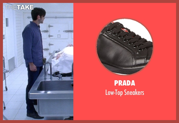 Prada black sneakers from American Horror Story seen with John Lowe (Wes Bentley)