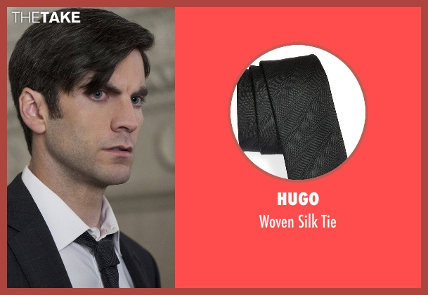 Hugo black tie from American Horror Story seen with John Lowe (Wes Bentley)