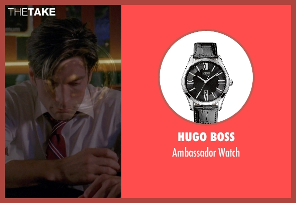 Hugo Boss black watch from American Horror Story seen with John Lowe (Wes Bentley)