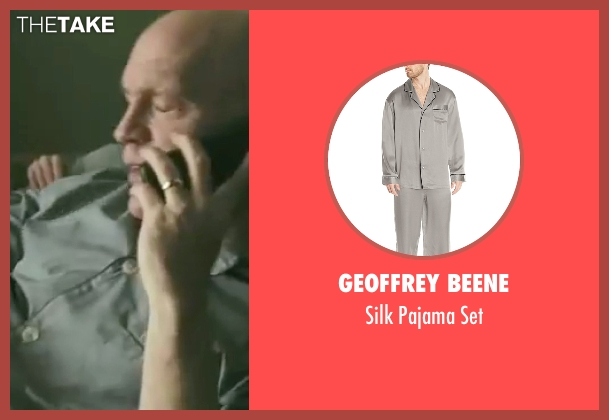 Geoffrey Beene gray set from Burn After Reading seen with John Malkovich (Osborne Cox)