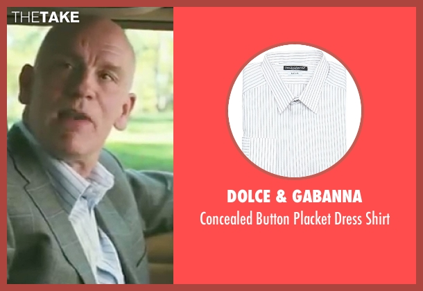 Dolce & Gabanna white shirt from Burn After Reading seen with John Malkovich (Osborne Cox)