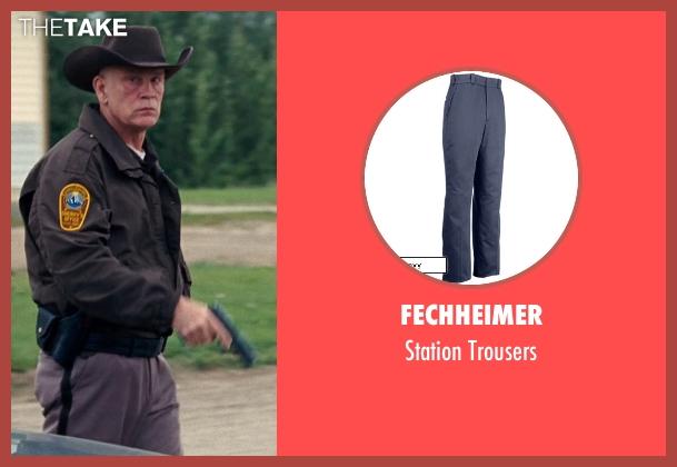 Fechheimer gray trousers from Cut Bank seen with John Malkovich (Sheriff Vogel)