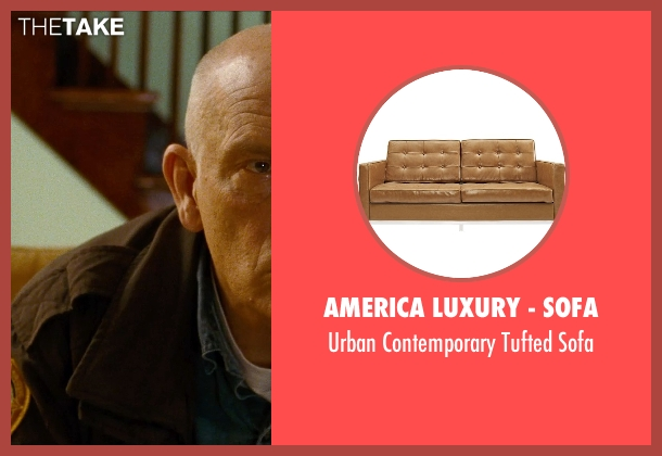 America Luxury - Sofa sofa from Cut Bank seen with John Malkovich (Sheriff Vogel)