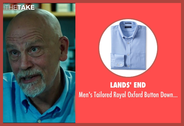 Lands' End blue shirt from Deepwater Horizon seen with John Malkovich (Unknown Character)