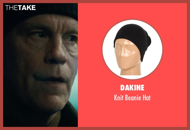 Dakine black hat from Warm Bodies seen with John Malkovich (Grigio)