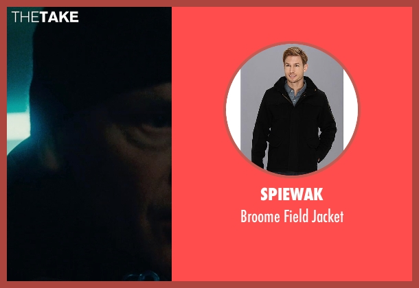Spiewak black jacket from Warm Bodies seen with John Malkovich (Grigio)