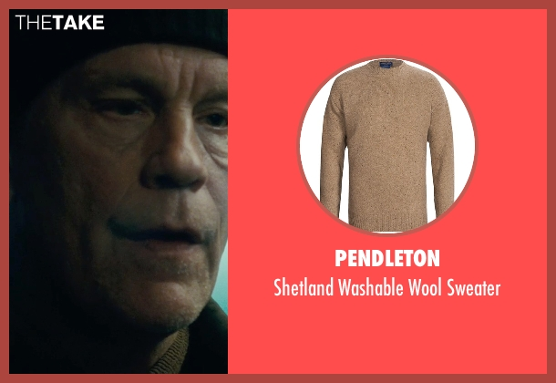 Pendleton brown sweater from Warm Bodies seen with John Malkovich (Grigio)