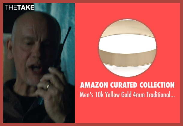 Amazon Curated Collection gold band from Warm Bodies seen with John Malkovich (Grigio)