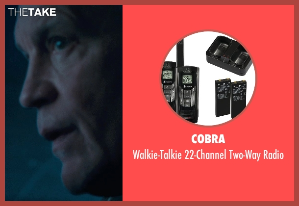 Cobra radio from Warm Bodies seen with John Malkovich (Grigio)