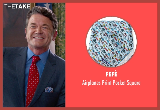 Fefè blue square from Pitch Perfect 2 seen with John Michael Higgins (John)