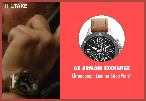 AX Armani Exchange brown watch from Blackhat seen with John Ortiz (Henry Pollack)