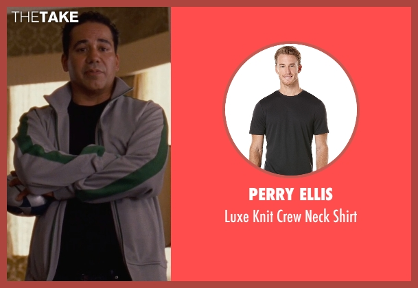 Perry Ellis black shirt from Silver Linings Playbook seen with John Ortiz (Ronnie)