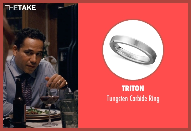 Triton ring from Silver Linings Playbook seen with John Ortiz (Ronnie)