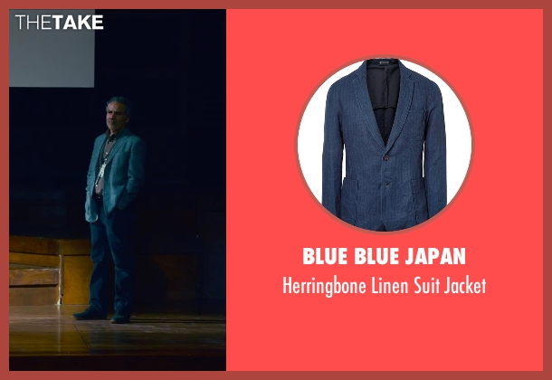 Blue Blue Japan blue jacket from Steve Jobs seen with John Ortiz (Joel Pforzheimer)