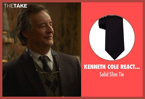 Kenneth Cole Reaction black tie from That Awkward Moment seen with John Rothman (Chelsea's Father)