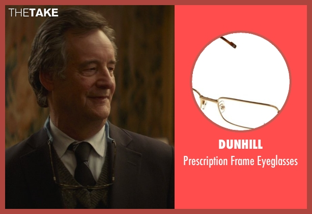 Dunhill brown eyeglasses from That Awkward Moment seen with John Rothman (Chelsea's Father)