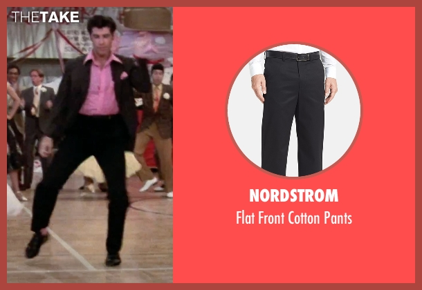 Nordstrom black pants from Grease seen with John Travolta (Danny)
