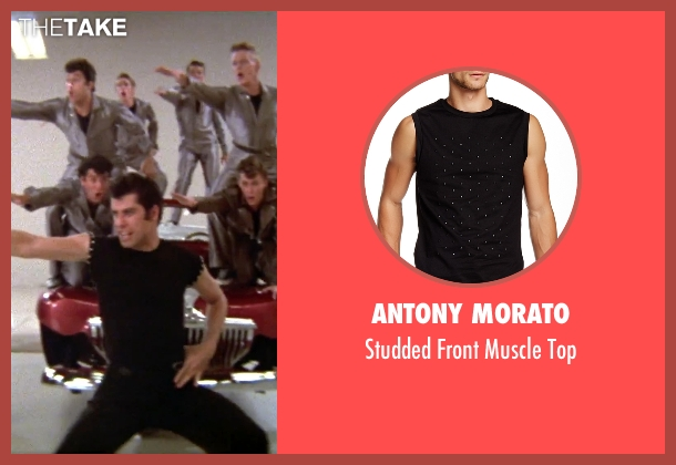 Antony Morato black top from Grease seen with John Travolta (Danny)