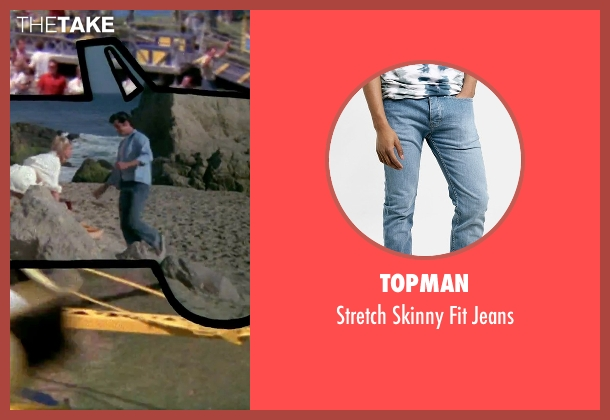 Topman blue jeans from Grease seen with John Travolta (Danny)