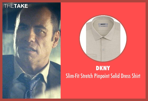 DKNY beige shirt from Savages seen with John Travolta (Dennis)