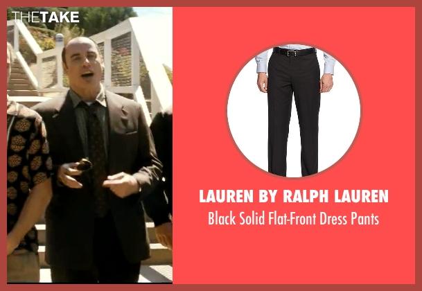 Lauren by Ralph Lauren black pants from Savages seen with John Travolta (Dennis)