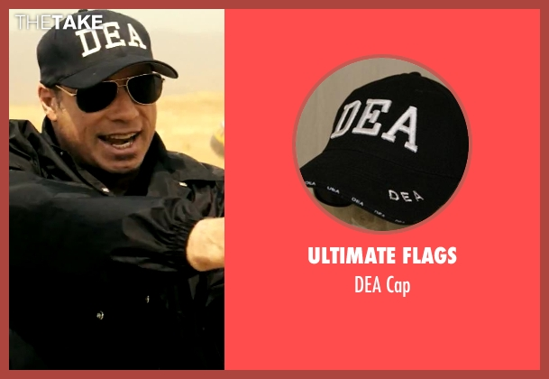 Ultimate Flags cap from Savages seen with John Travolta (Dennis)