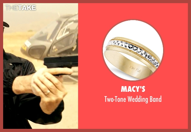 Macy's gold band from Savages seen with John Travolta (Dennis)